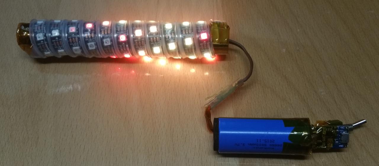 Portable RGB Led Torch using Arduino | Twisted Artwork
