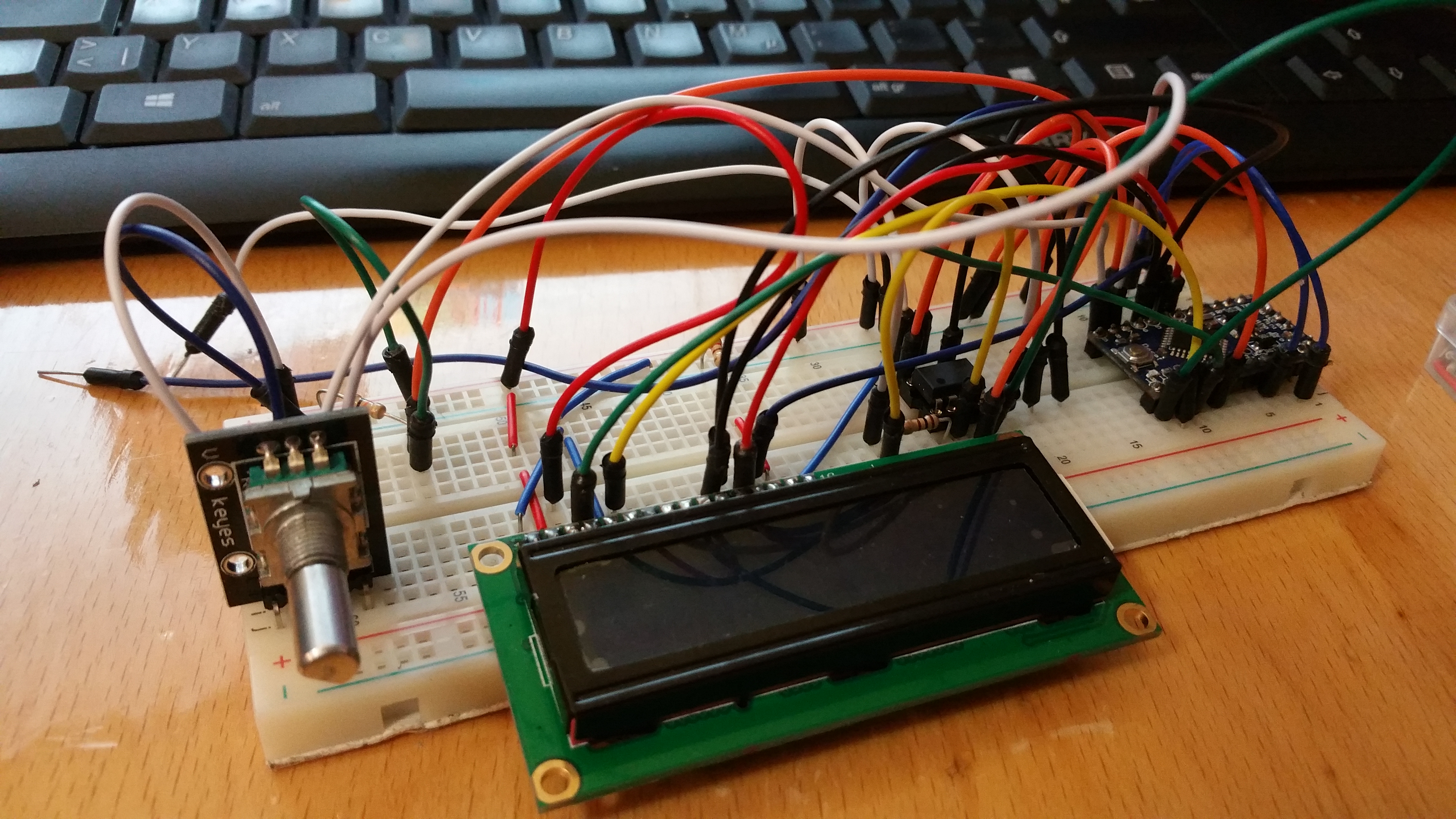Building a compact arduino based DMX testing device